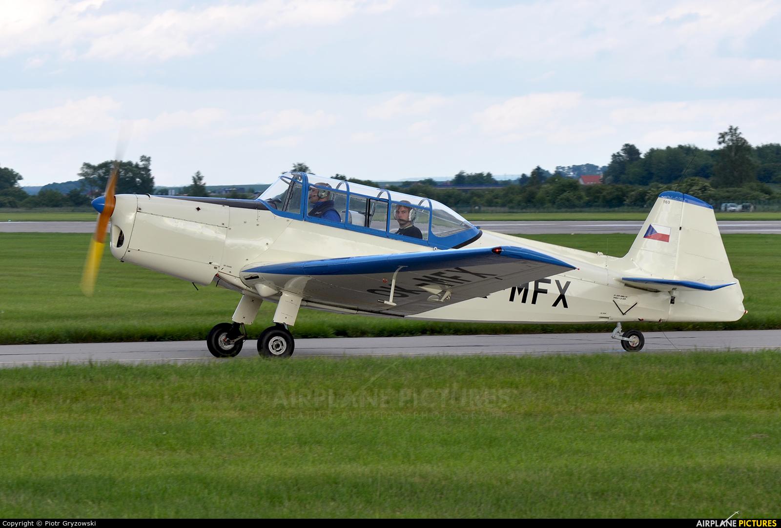 Východočeský aeroklub Pardubice OK-MFX aircraft at Pardubice
