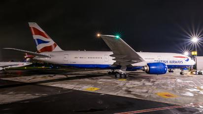 G-YMMC - British Airways Boeing 777-200