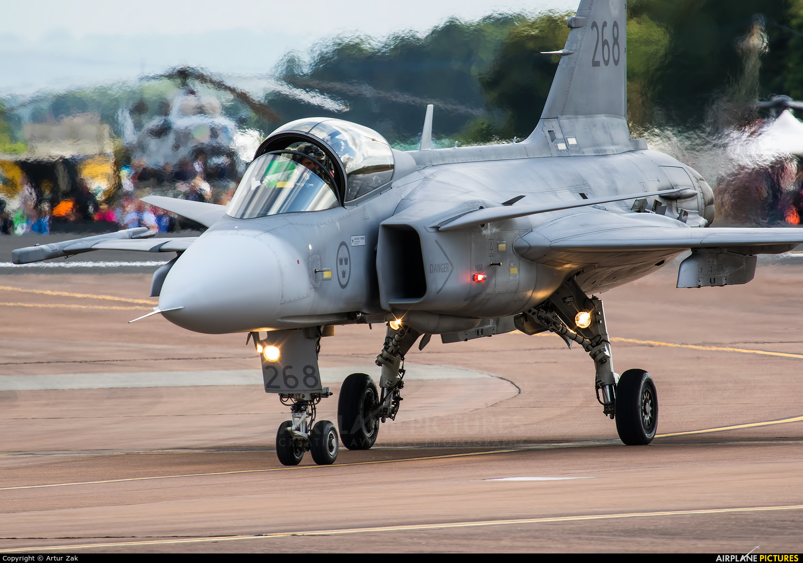 Sweden - Air Force 39268 aircraft at Fairford