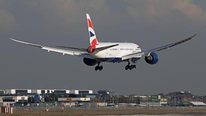 G-ZBJA - British Airways Boeing 787-8 Dreamliner