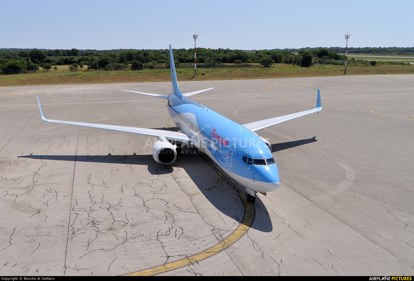 Thomson/Thomsonfly G-FDZS aircraft at Pula