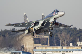 01 RED - Russia - Air Force Sukhoi Su-35S