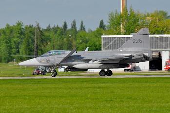 226 - Sweden - Air Force SAAB JAS 39C Gripen