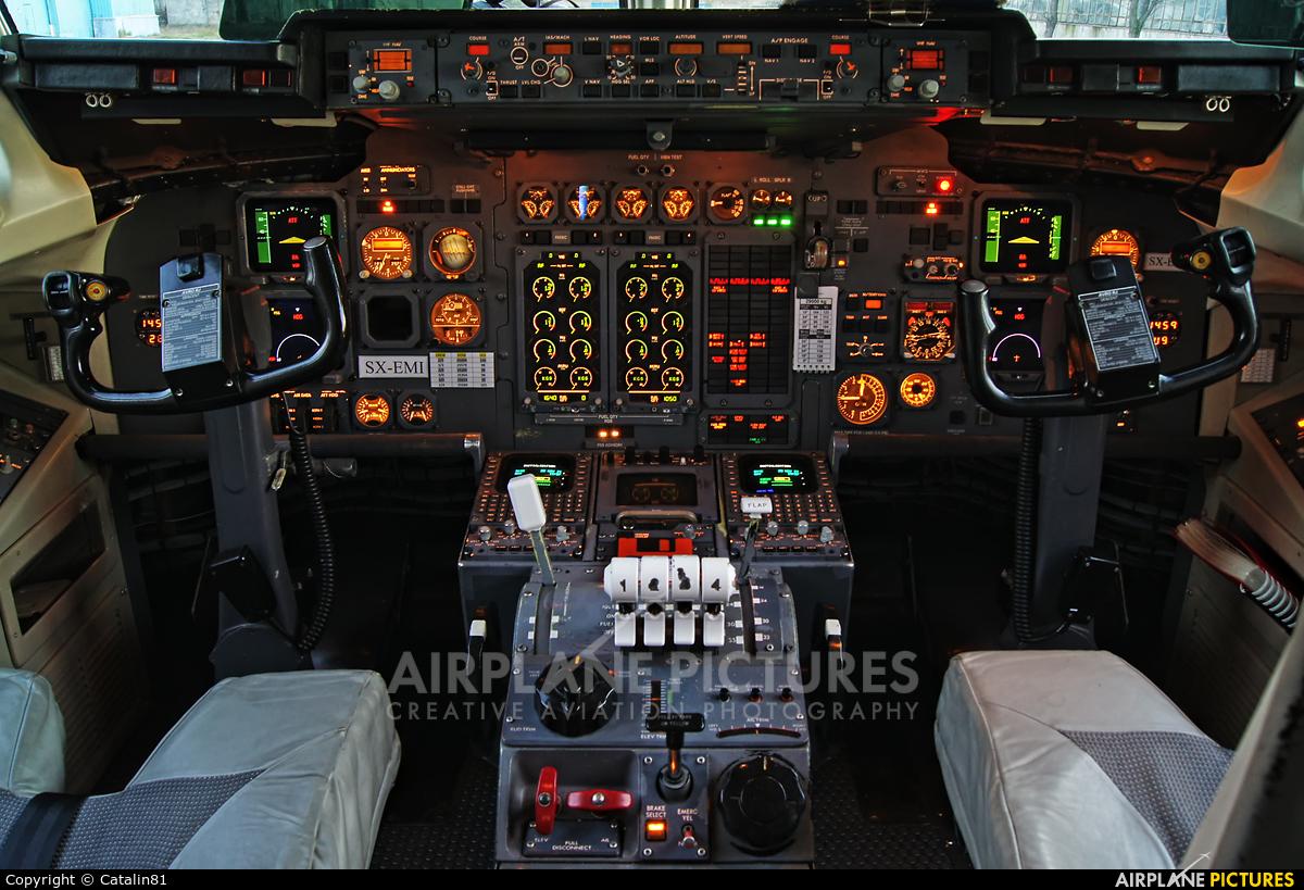 Ellinair SX-EMI aircraft at Craiova