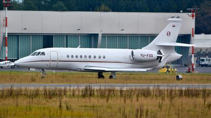 YU-FSS - Prince Aviation Dassault Falcon 2000LX