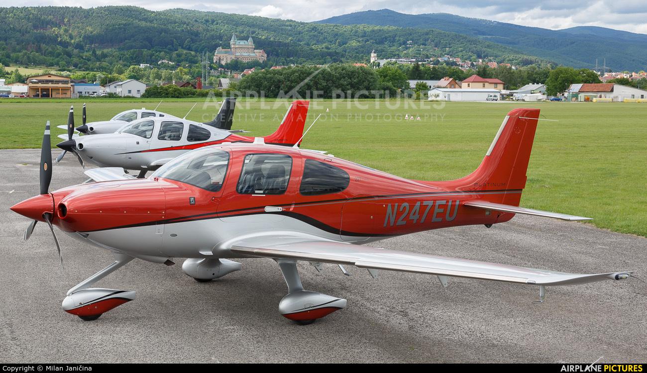 Private N247EU aircraft at Prievidza