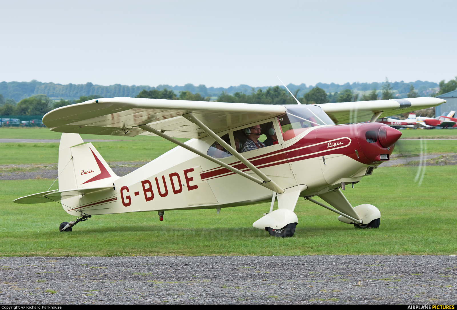 Private G-BUDE aircraft at Henstridge Airfield