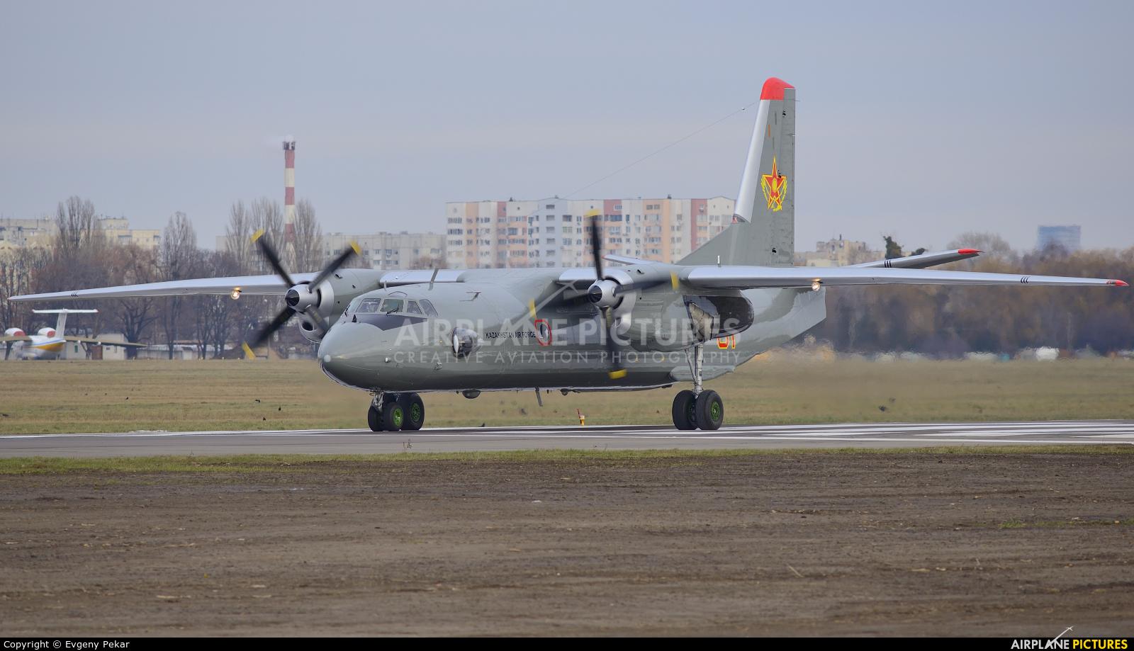 Kazakhstan - Air Force 01 aircraft at Kiev - Zhulyany