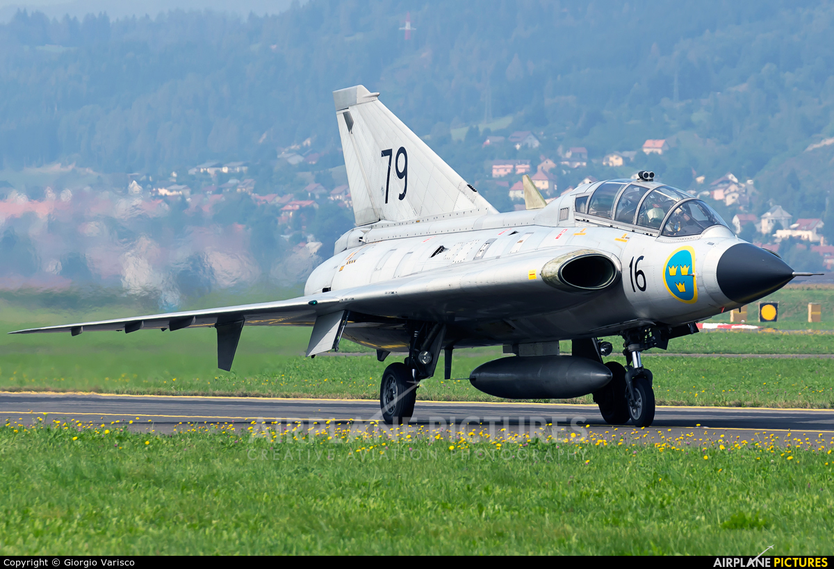 Swedish Air Force Historic Flight SE-DXP aircraft at Zeltweg