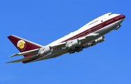 VP-BAT - Qatar Amiri Flight Boeing 747SP aircraft
