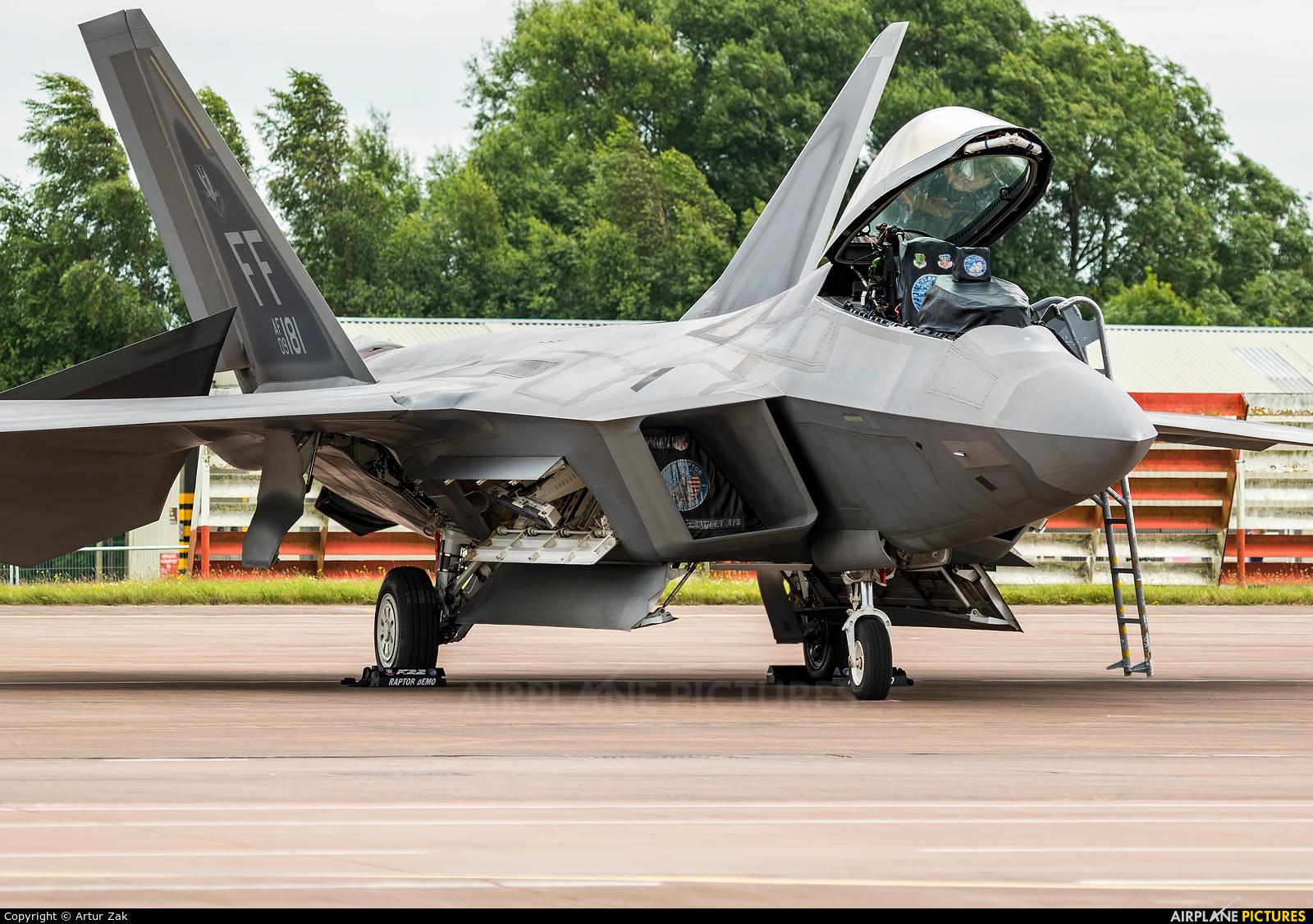 USA - Air Force 09-4181 aircraft at Fairford