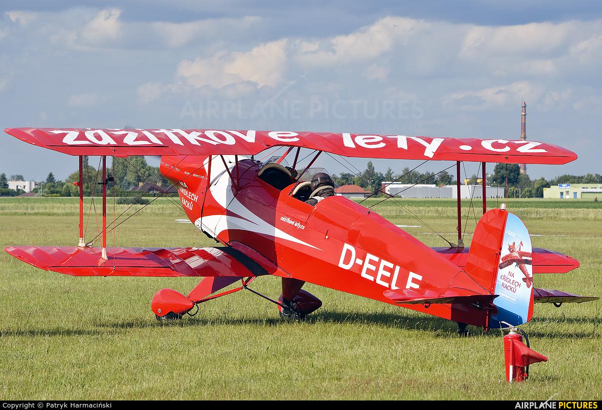 Private D-EELE aircraft at Leszno - Strzyżewice