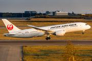 JA835J - JAL - Japan Airlines Boeing 787-8 Dreamliner aircraft