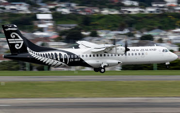 ZK-MVF - Air New Zealand Link - Mount Cook Airline ATR 72 (all models)