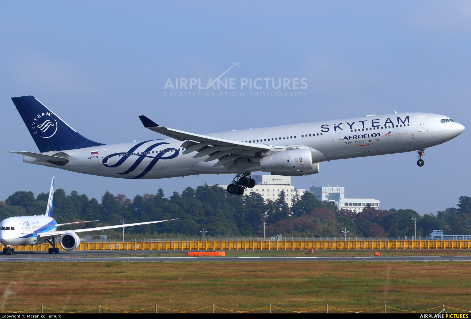 Aeroflot VQ-BCQ aircraft at Tokyo - Narita Intl