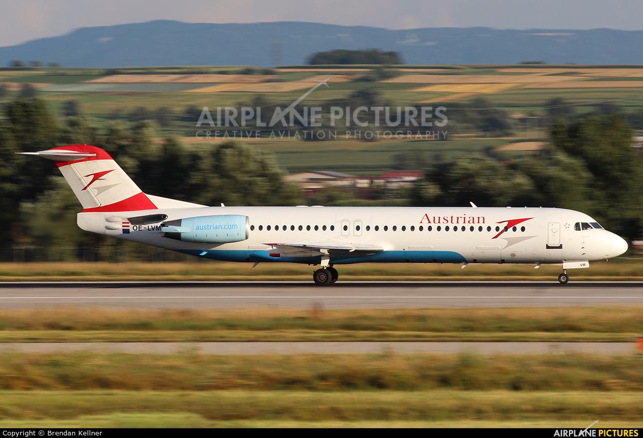 Austrian Airlines/Arrows/Tyrolean OE-LVM aircraft at Stuttgart