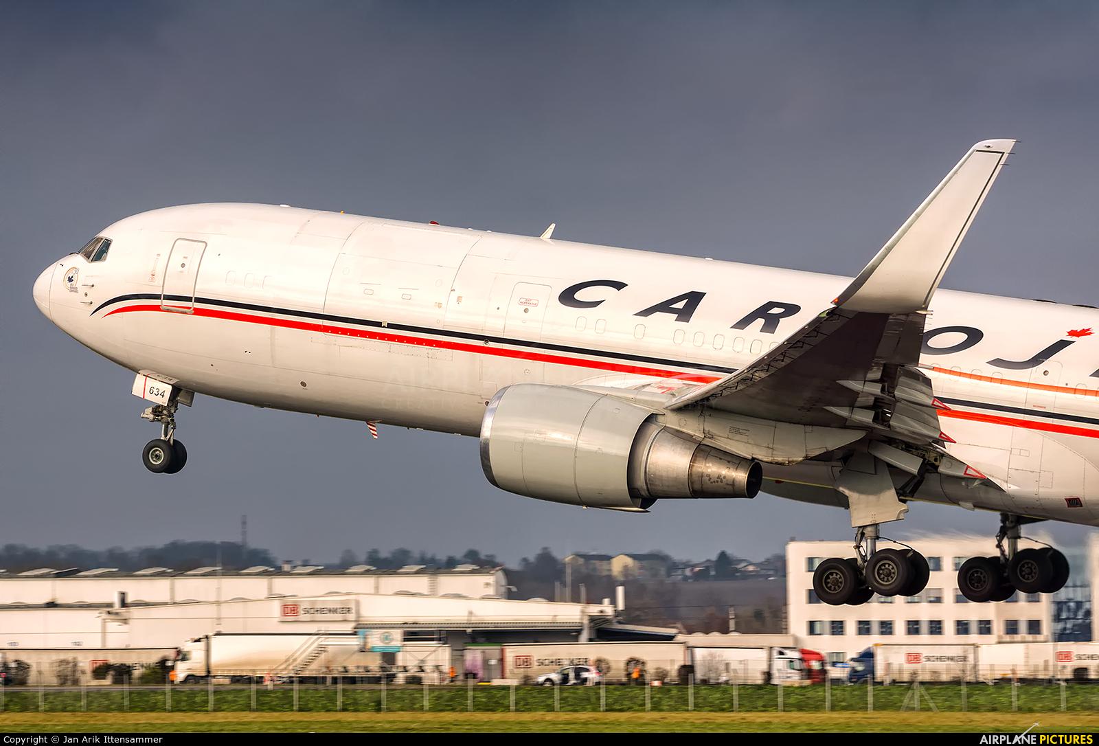 Cargojet Airways C-FGSJ aircraft at Linz