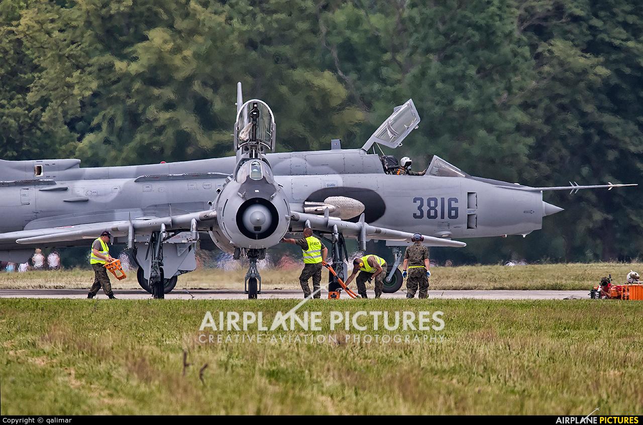 Poland - Air Force 8205 aircraft at Świdwin