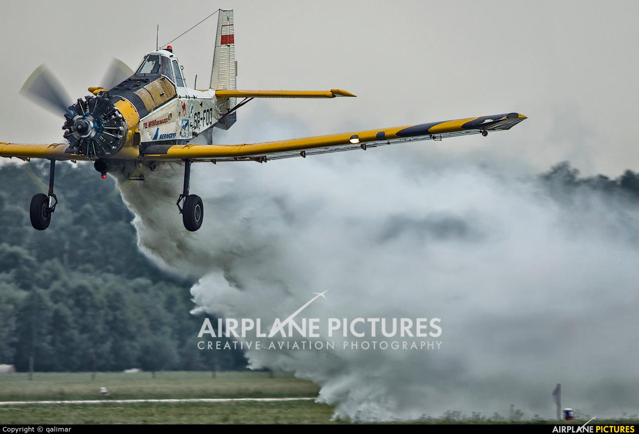 Aerogryf SP-FOO aircraft at Świdwin