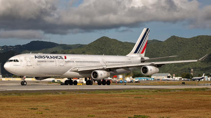 F-GNII - Air France Airbus A340-300