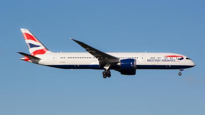 G-ZBKG - British Airways Boeing 787-9 Dreamliner