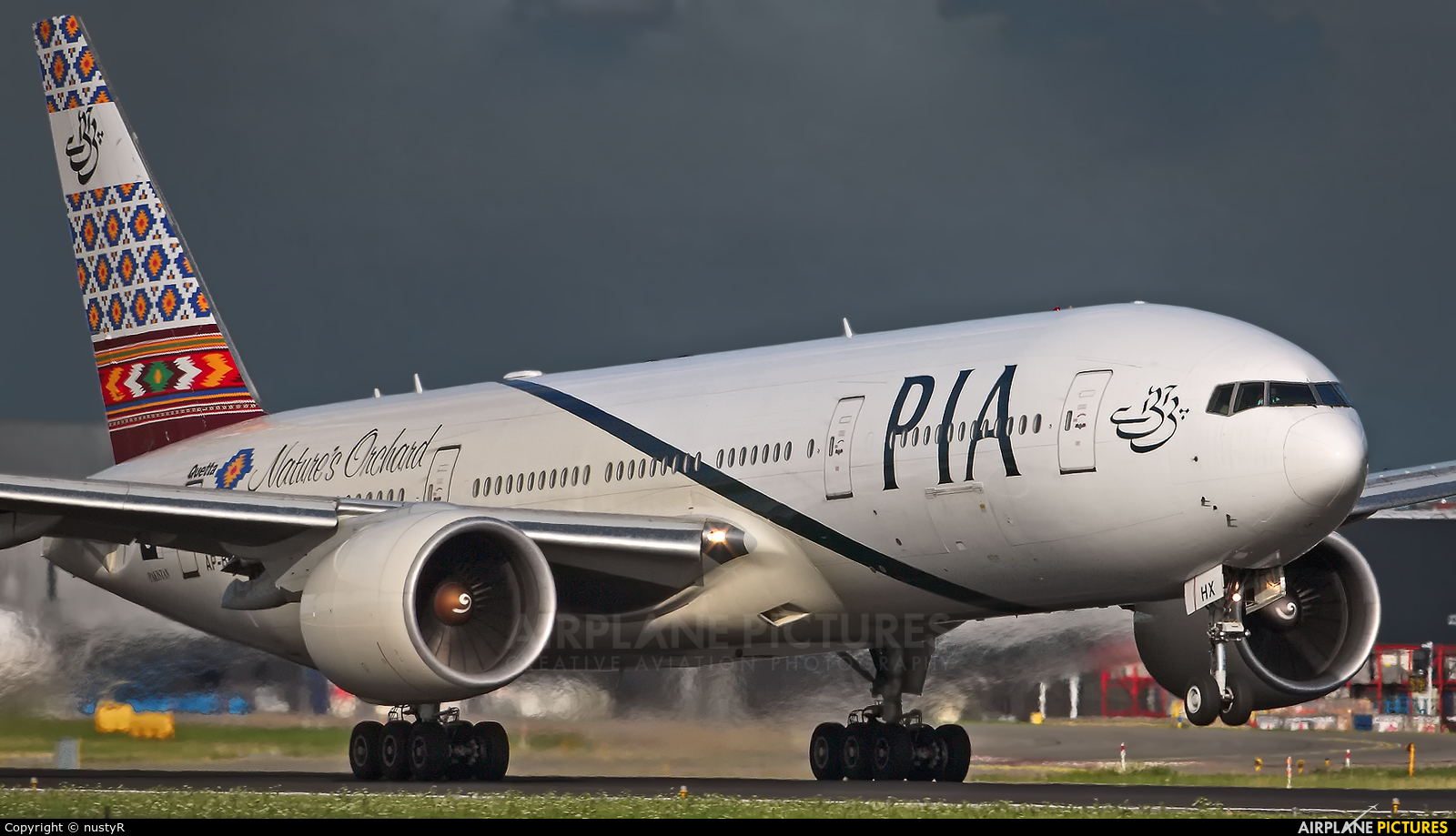 PIA - Pakistan International Airlines AP-BHX aircraft at Amsterdam - Schiphol