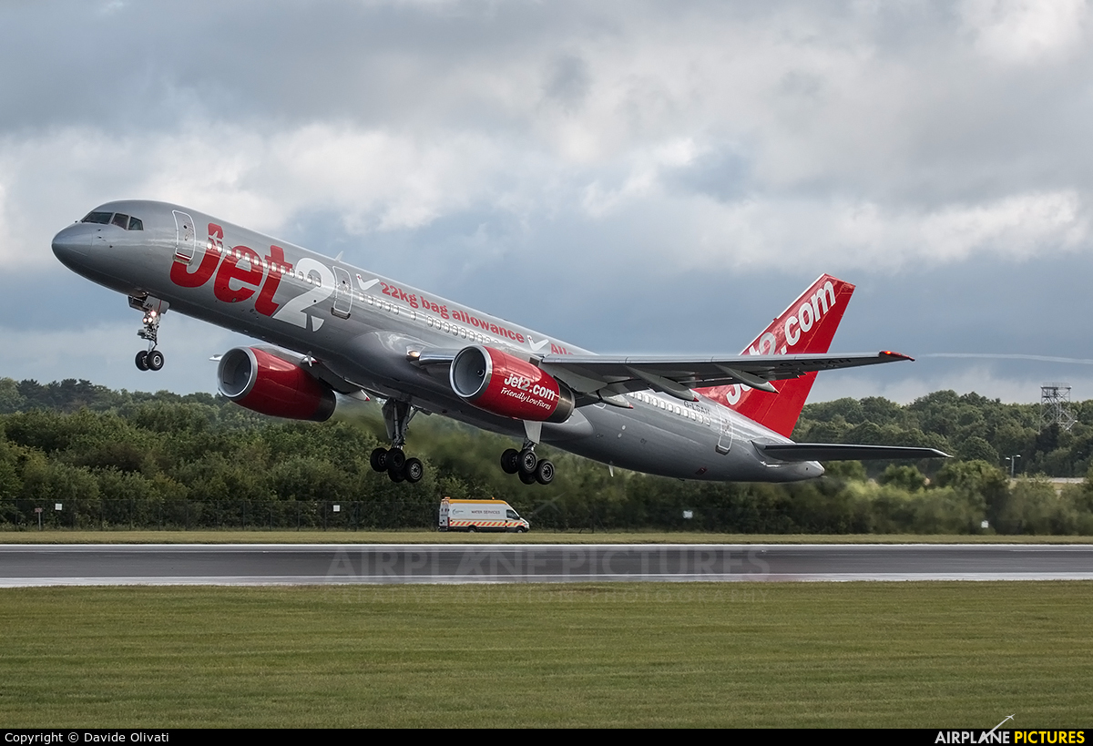 Jet2 G-LSAH aircraft at Manchester