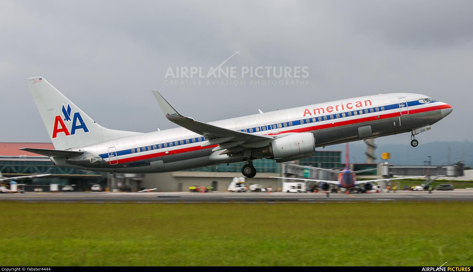 American Airlines N858NN aircraft at San Jose - Juan Santamaría Intl