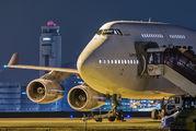 VH-OJM - QANTAS Boeing 747-400 aircraft