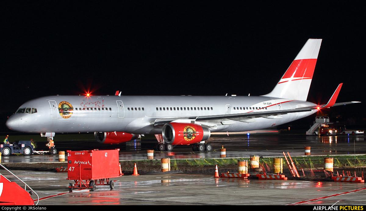 JetMagic 9H-AVM aircraft at San Jose - Juan Santamaría Intl