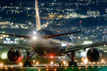 JA715A - ANA - All Nippon Airways Boeing 777-200ER