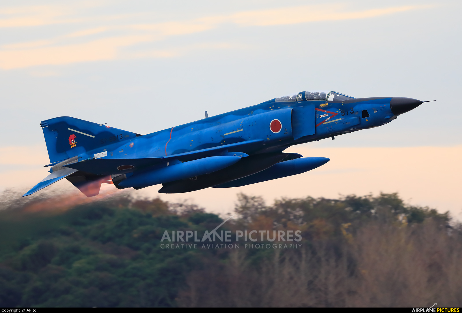 Japan - Air Self Defence Force 57-6913 aircraft at Ibaraki - Hyakuri AB