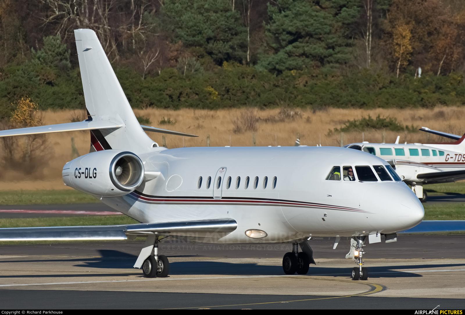 NetJets Europe (Portugal) CS-DLG aircraft at Farnborough
