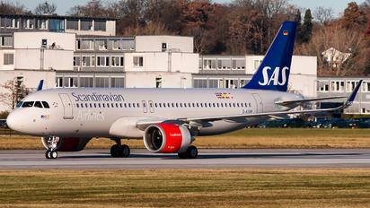 D-AXAK - SAS - Scandinavian Airlines Airbus A320 NEO