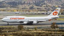 EC-KXN - Conviasa Boeing 747-400 aircraft