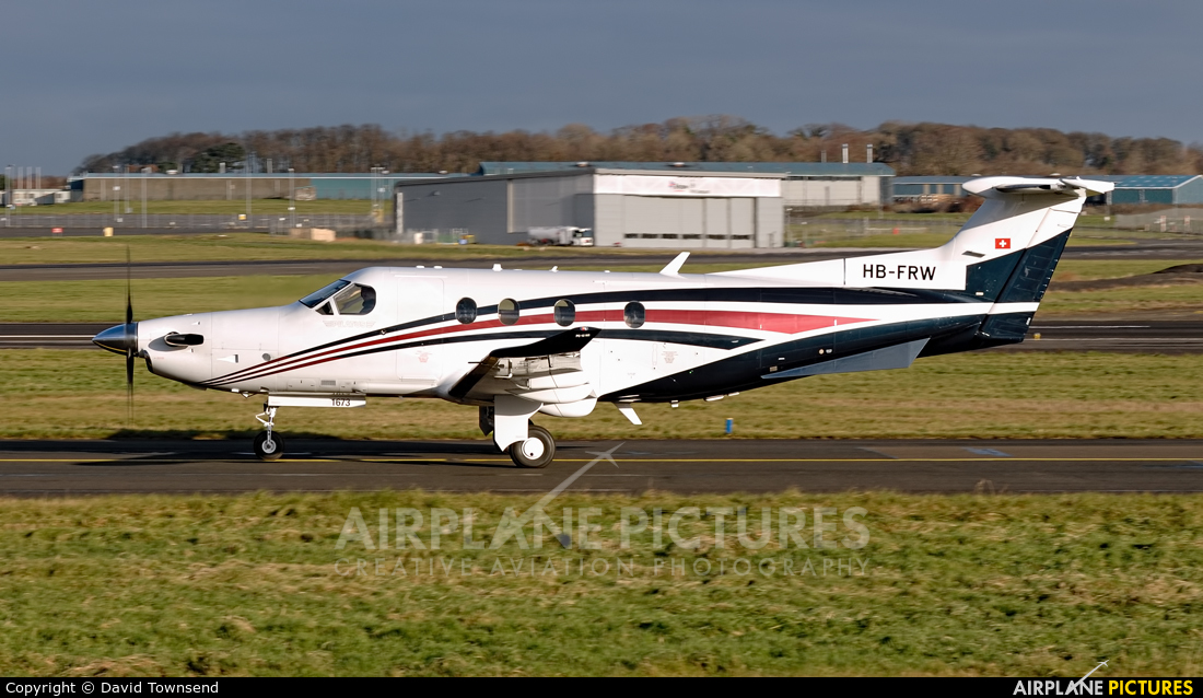Unknown HB-FRW aircraft at Prestwick