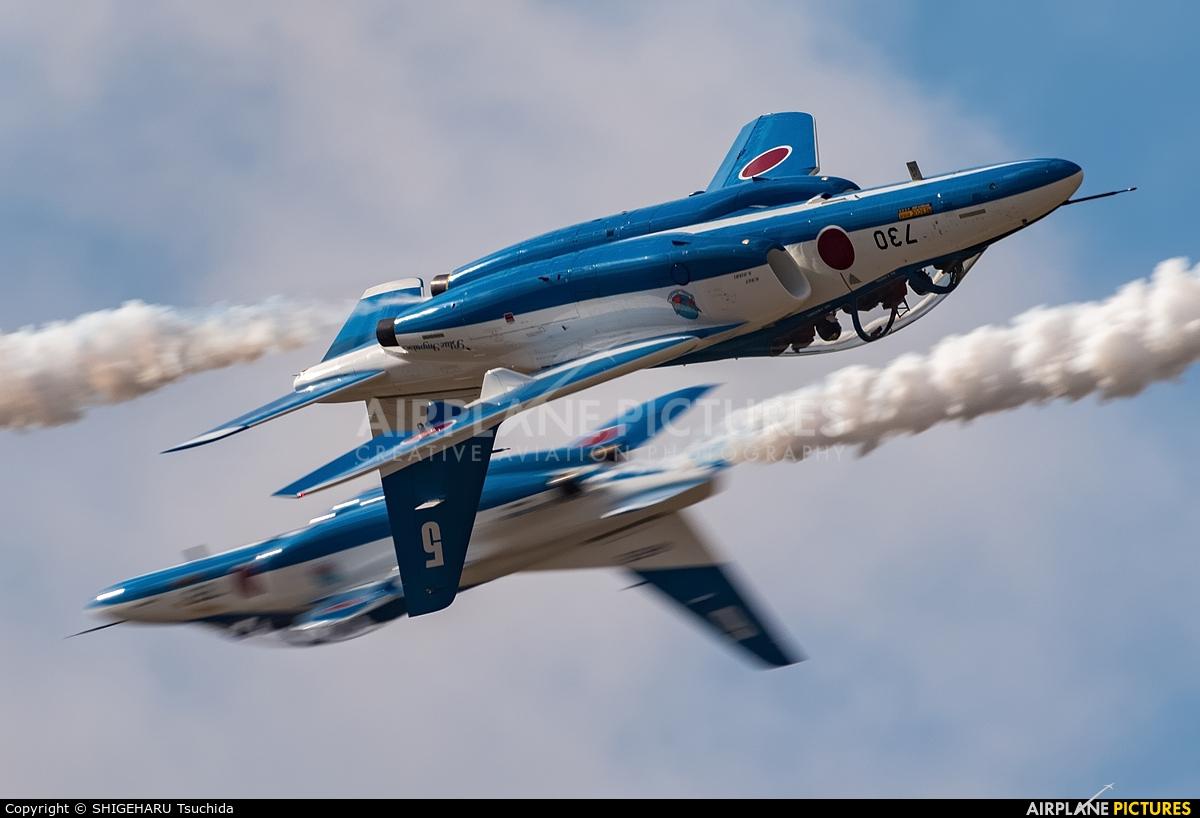 Japan - ASDF: Blue Impulse 46-5730 aircraft at Ibaraki - Hyakuri AB