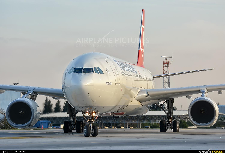 Turkish Airlines TC-JNO aircraft at Istanbul - Ataturk