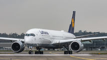 F-WZNC - Lufthansa Airbus A350-900 aircraft