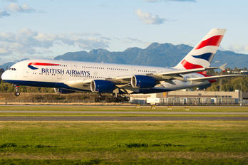 G-XLEB - British Airways Airbus A380