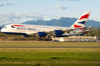 G-XLEB - British Airways Airbus A380