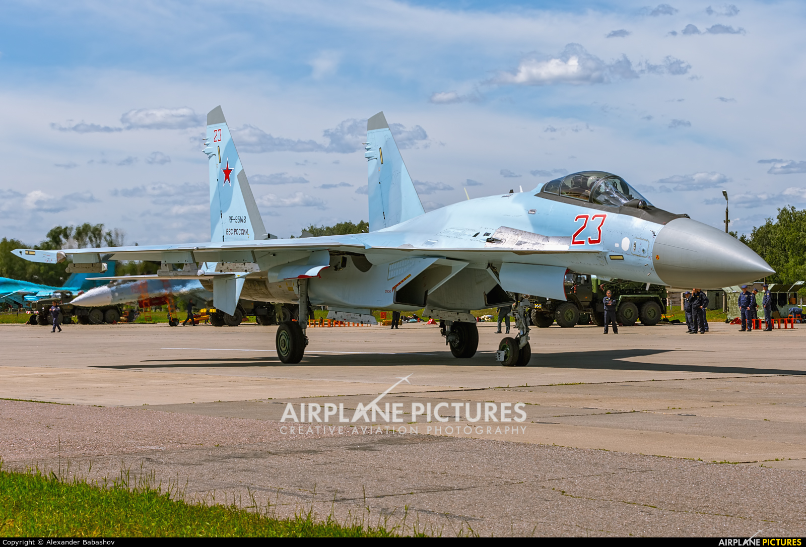 Russia - Air Force Sukhoi Su-35S RF-95148