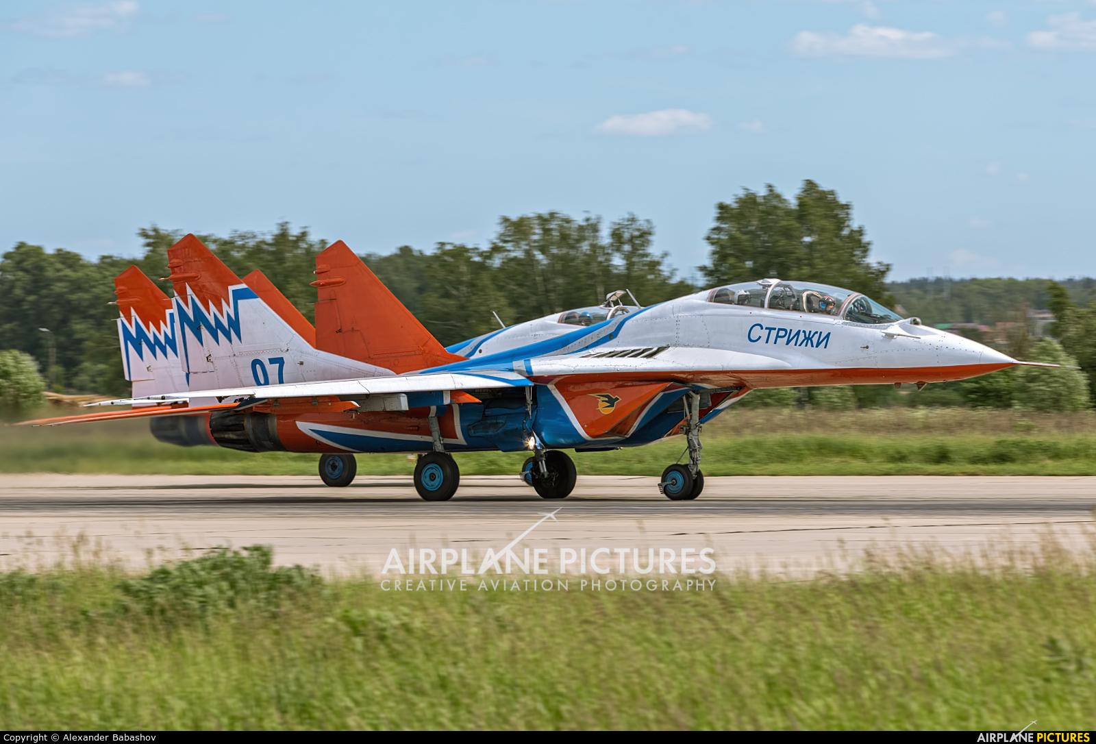 "Russia - Air Force ""Strizhi"" Mikoyan-Gurevich MiG-29UB 07"