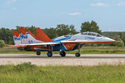 "07 - Russia - Air Force ""Strizhi"" Mikoyan-Gurevich MiG-29UB aircraft"