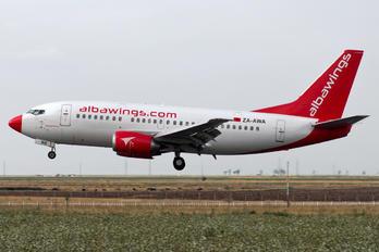 ZA-AWA - Albawings Boeing 737-500