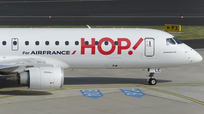 F-HBLE - Air France - Hop! Embraer ERJ-190 (190-100)