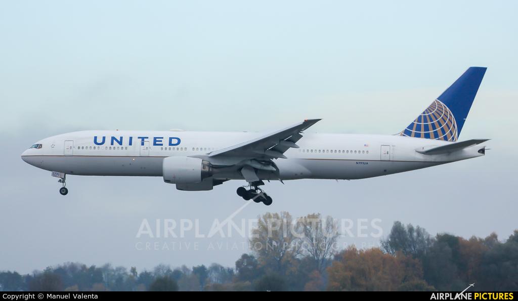 United Airlines N791UA aircraft at Munich