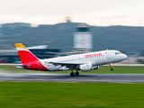 EC-MFP - Iberia Airbus A319 aircraft