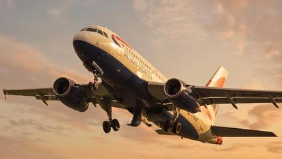 G-EUOC - British Airways Airbus A319