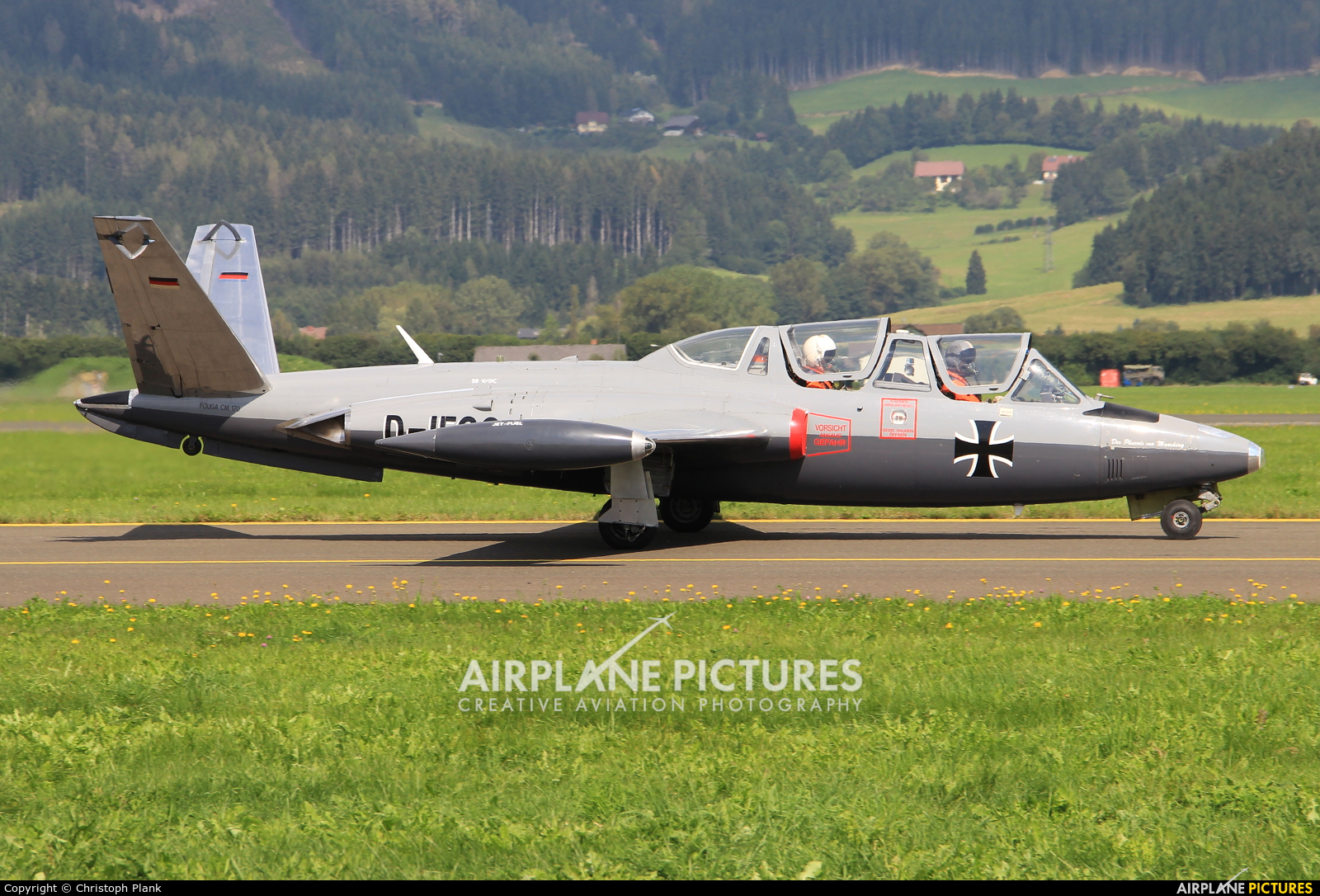 Private D-IFCC aircraft at Zeltweg